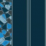 Wall-paper template with modern original seamless texture. Vector illustration royalty free illustration