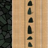 Wall-paper template with modern original seamless texture. Vector illustration vector illustration