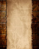 Wall with paper texture Royalty Free Stock Image