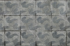 Wall part. The wall part, is the Chinese tradition decorative pattern Royalty Free Stock Image