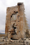 Wall in Pasargadae Royalty Free Stock Image