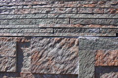Stone wall cladding Stock Photos