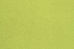 Bright green walls of the house for the background and design royalty free stock photo