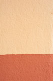 Wall pattern. The contrast of color on wall Stock Image