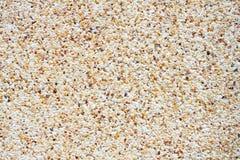 Wall pattern gravel stone Royalty Free Stock Image
