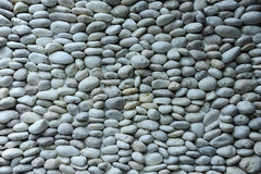 Wall pattern of gravel stone Royalty Free Stock Photos