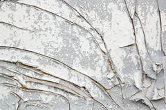 Wall with peeling paint Royalty Free Stock Photography