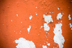 Wall with peeling paint Royalty Free Stock Image
