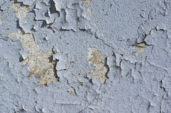 Wall peeling paint or cracked Royalty Free Stock Image