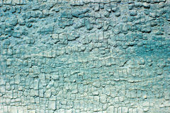 Wall with peeling paint Stock Photography