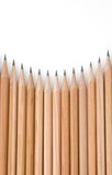 Wall of Pencil Tips Royalty Free Stock Image