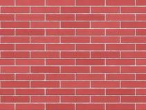 Wall of pink bricks Stock Photo