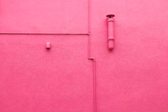The wall of the pink Royalty Free Stock Photography