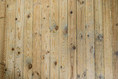 Wall of planks. Wall of boards, twigs, floor, wall texture Royalty Free Stock Photography