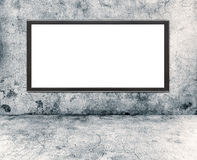 Wall and plasma Royalty Free Stock Photos