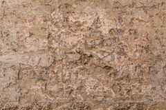 Wall of plaster stock images
