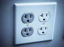 Wall plug Stock Image