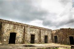 Wall in Portobelo Stock Image