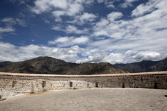 Wall of the Potala Royalty Free Stock Photo