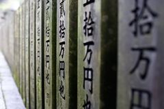 WALL OF PRAYERS Royalty Free Stock Images