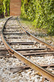Wall Railroad Wrong Way Dead End Royalty Free Stock Photo