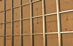 Wall ready for siding. Stock Photography