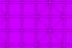 Wall of rectangle tiles with diagonal elements Royalty Free Stock Images