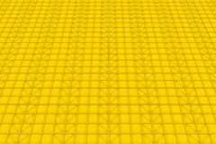 Wall of rectangle tiles with diagonal elements. Wall of rectangle tiles, grid of square tiles with diagonal elements, abstract background.3D render illustration Royalty Free Illustration