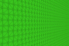 Wall of rectangle tiles with diagonal elements. Wall of rectangle tiles, grid of square tiles with diagonal elements, abstract background.3D render illustration Stock Illustration