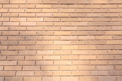 Wall of red brick Royalty Free Stock Photos