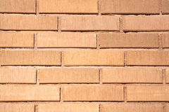 Wall of red brick Stock Image
