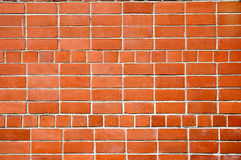 A wall from a red brick Stock Images