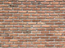 Wall. Red brick wall for background Royalty Free Stock Images