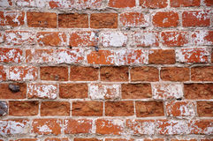 Wall of red brick Stock Photo