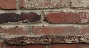 Wall of red brick Royalty Free Stock Photo