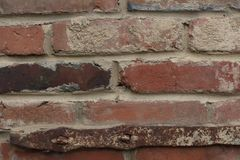 Wall of red brick Royalty Free Stock Image