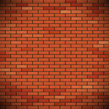 Wall of red brick. Stock Photo