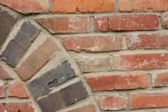 Wall of red brick Royalty Free Stock Photography