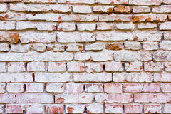 Wall of red bricks. Background texture of  red brick wall Royalty Free Stock Images