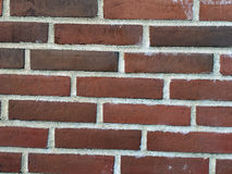 Wall of the red bricks. The wall of the red bricks as background, texture Stock Photos