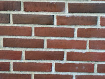 Wall of the red bricks Stock Photos