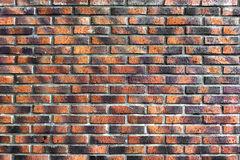 Wall with red bricks Stock Photo