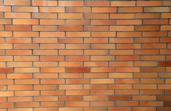 A wall of red bricks. Background - Red brick wall. A wall of red bricks. Background - Red brick wall royalty free stock photography