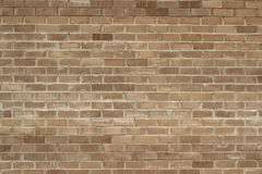 Wall of red clay bricks background Royalty Free Stock Photo