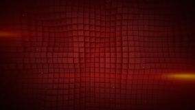 Wall of red cubes abstract background 3D rendering. Wall of red cubes and lens flares. Abstract geometric background. 3D rendering stock illustration