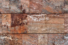 Wall of red marble. A wall of red marble Royalty Free Stock Photos