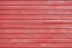 Wall of red plank Royalty Free Stock Photography