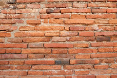 Wall red stone Stock Photo