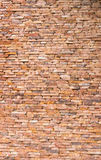 Wall of red stone tiles Royalty Free Stock Image