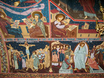 Wall religious paintings Royalty Free Stock Image